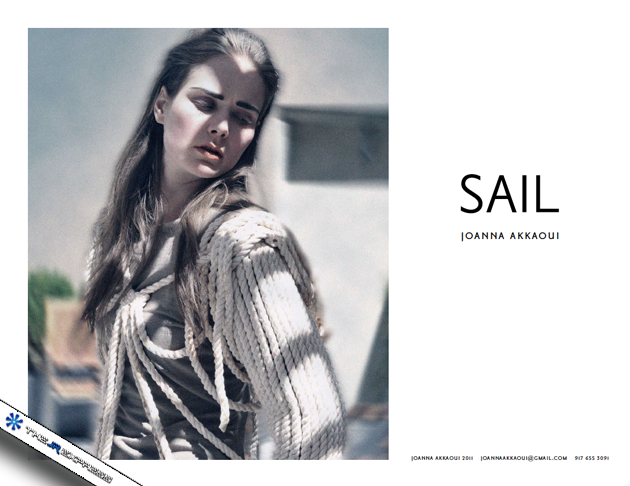 Joanna Akkaoui Sail Collection