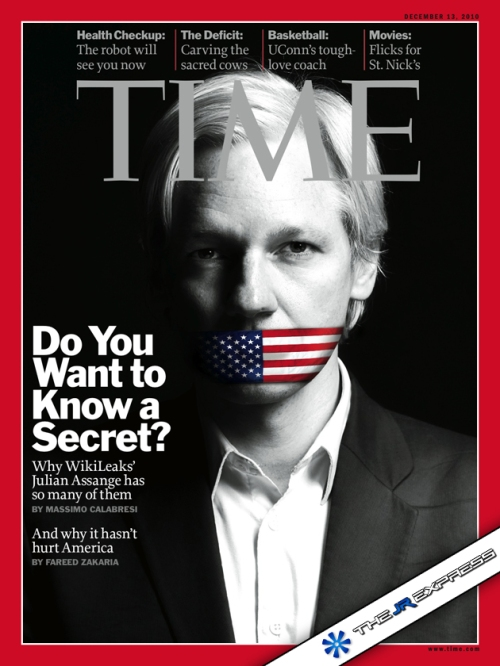 Julian Assange Time Magazine