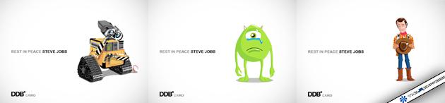 Steve Jobs DDB Triptique