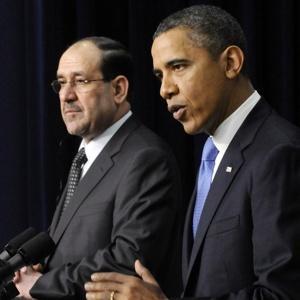 Obama - Al Maliki Conference