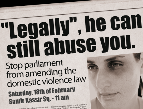 """Legally"", he can still abuse you"
