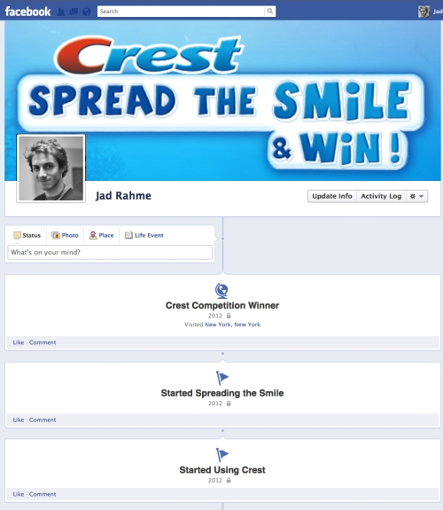 Crest Arabia Facebook Competition