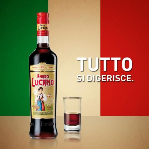 Amaro Lucano Tutto Si Digerisce It Digest Everything