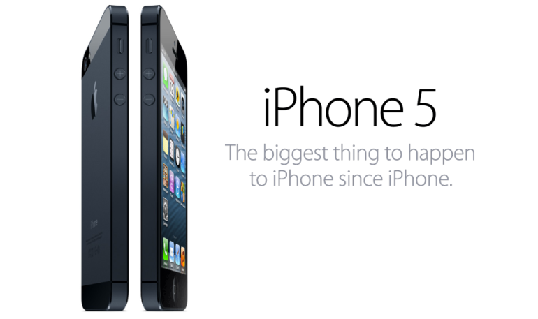 iPhone 5 Overview Picture