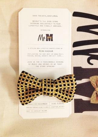 Invitation Card Mr. M