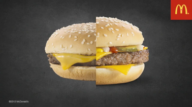 Mc Donalds Burger Compare