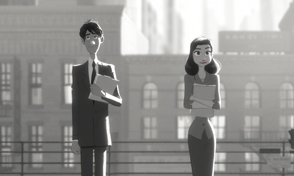 Paperman disney short