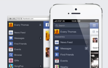 Facebook NewsFeed New Look 10