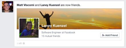 Facebook NewsFeed New Look 4