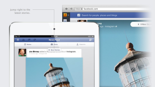 Facebook NewsFeed New Look 7