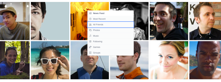 Facebook NewsFeed New Look 9
