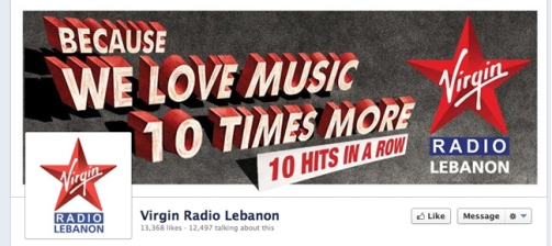 Virgin Radio Lebanon Facebook Page