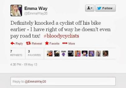 Emma Way Tweet