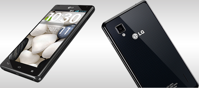 LG Optimus G Screen And Design