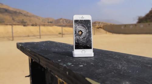 iPhone 5S Rifle Shot