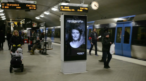 Apotek Hair Ad Subway