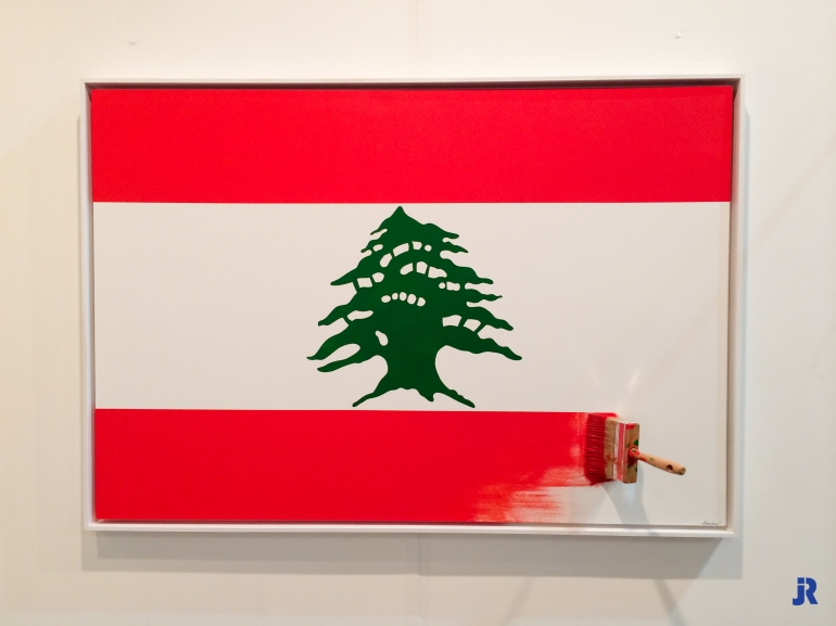 Jean Paul Donadini - Lebanese Flag