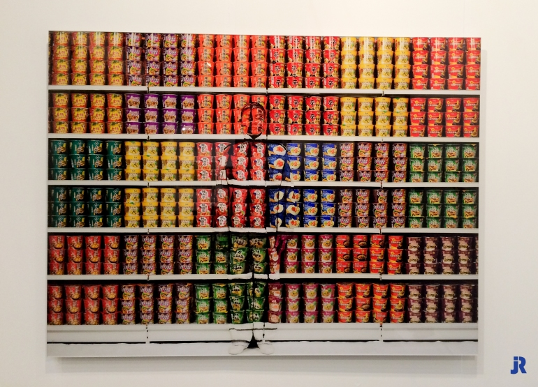 Liu Bolin - Supermarket