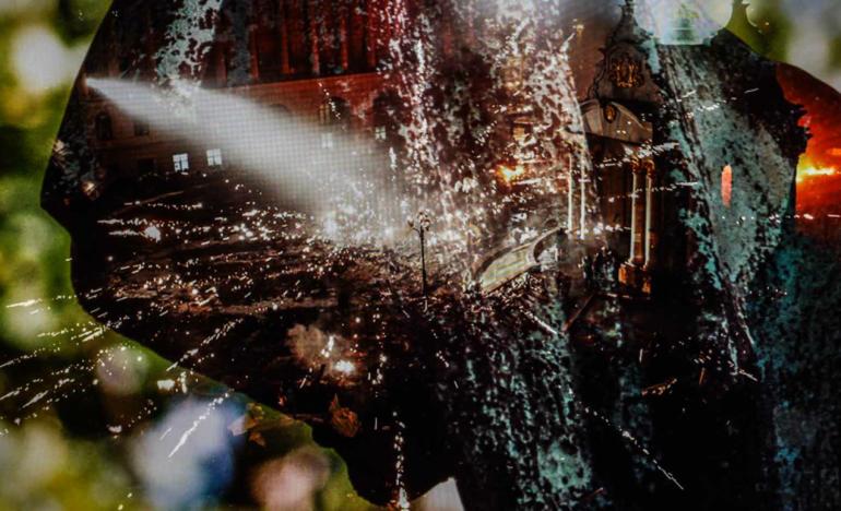 Vincent Falk Screen Puzzle: Kiev Explosion
