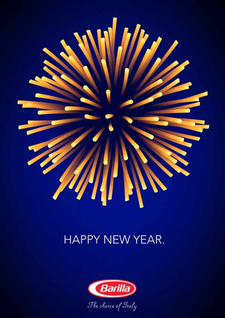 Barilla Happy New Year Ad