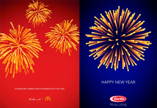 Fireworks Inspired Ad - Leo Brunett and McDonald's