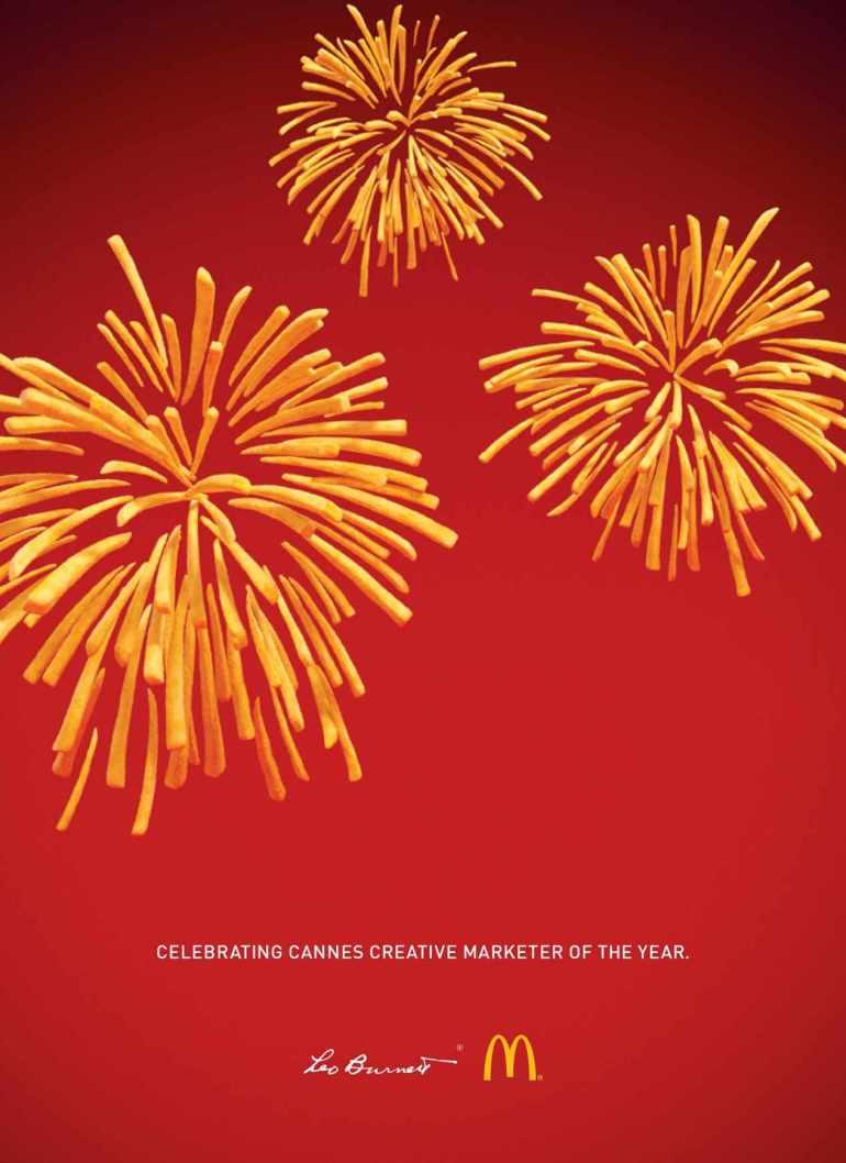 Leo Burnett McDonalds Fryworks Ad