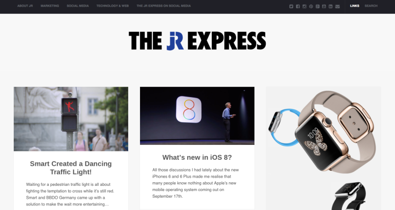 The JR Express New Design